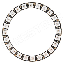 WS2812-RING24/66 / WS2812 RGB LED gyűrű modul, 24 LED, 66mm
